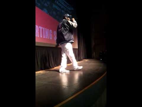 "Teflon Don Performing "" Go Grizzlies"" At The Indie Memphis Film Festival 2013"