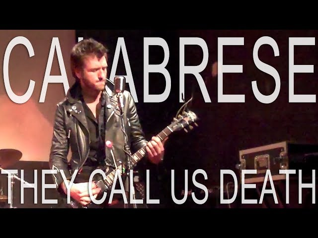 CALABRESE - They Call Us Death | LIVE, RAW & EVIL | Rome, Italy - 2010