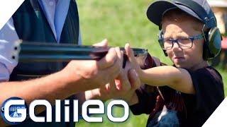 Die Survival-Grundschule in England | Galileo | ProSieben