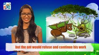 The Ant and The Grasshopper |  Story For Kids | Moral Stories For Kids | Short Stories | TVNXT Kidz