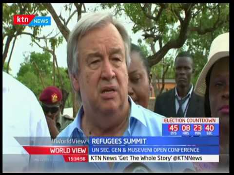 UN Secretary General calls for end of South Sudan civil war