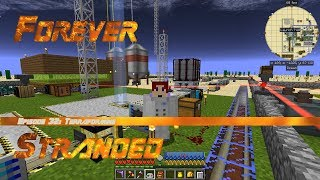 Forever Stranded #32 - Advanced Rocketry Terraforming the Moon