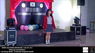 Ulzzang Competition (1st Ramp Walk - K-Drama Inspired Outfit) on KPOP CULTURE UNVEILED