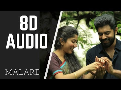 MALARE | Premam | 8D AUDIO | use headphone
