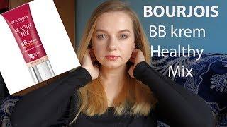 Огляд + Нанесення Bourjois Healthy Mix ВВ Cream Anti-Fatigue 01 Моя нова ❤