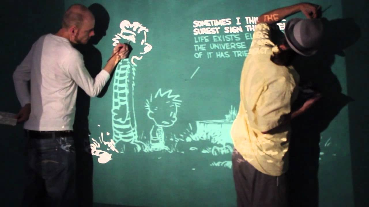 Calvin and Hobbes on my Wall YouTube
