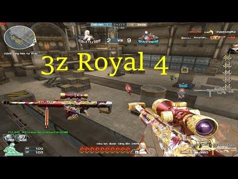 [ Bình Luận CF ] Barrett M82A1-Ancient Dragon - Tiền Zombie v4