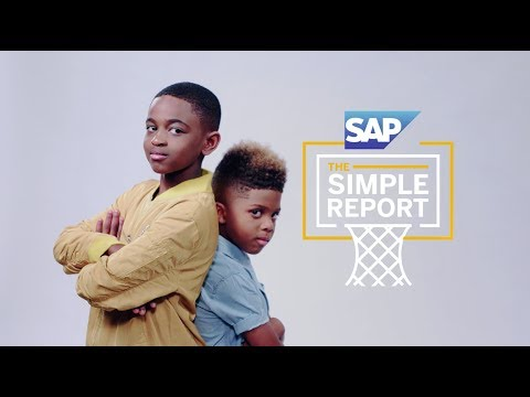 The Simple Report from SAP