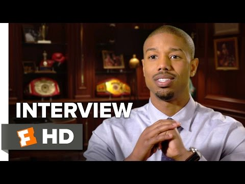 Creed Interview - Michael B. Jordan (2015) - Drama HD