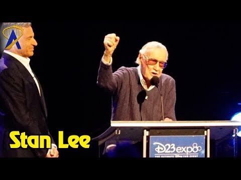 Stan Lee receives Disney Legend award at D23 Expo 2017