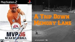 A Trip Down Memory Lane: EA Sports MVP 06 NCAA Baseball (PS2)