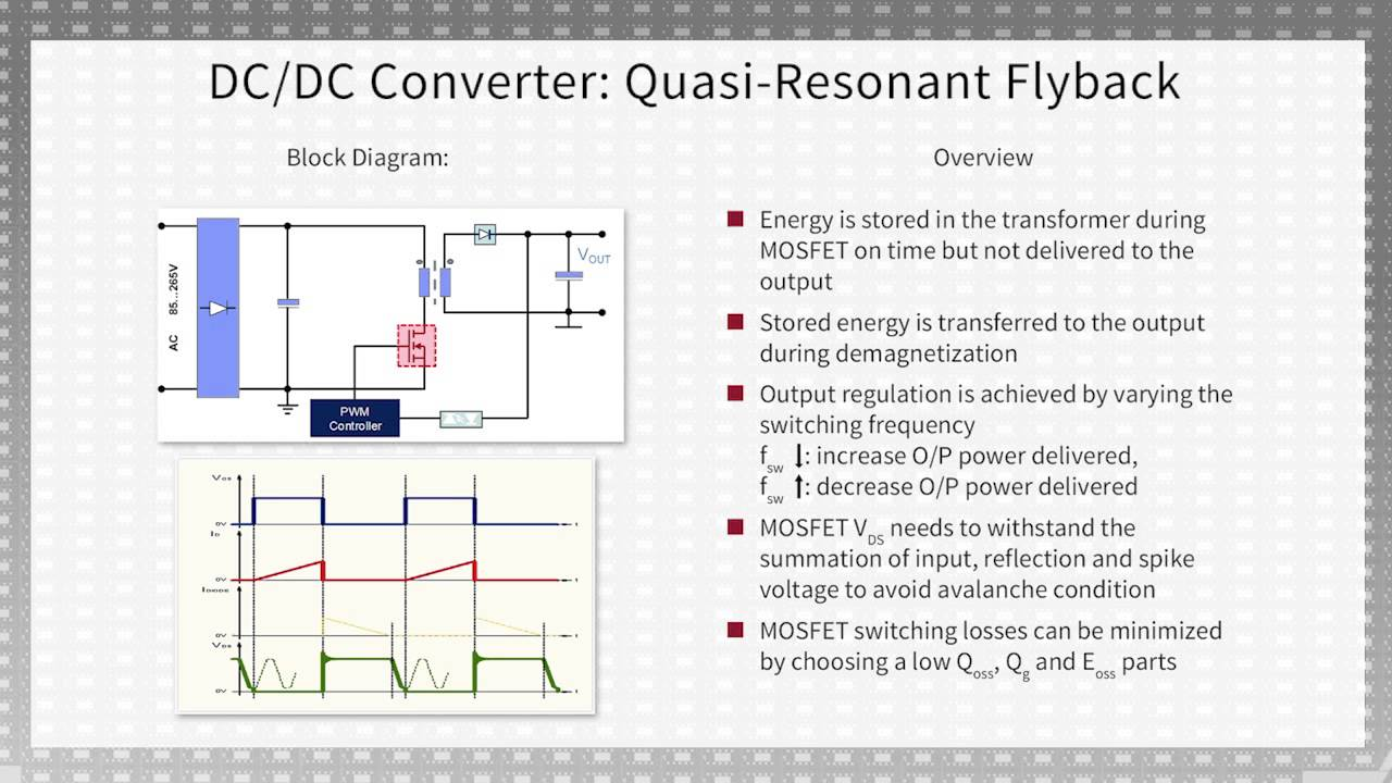 Resonant Dc Converter Circuit Diagram Diy Enthusiasts Wiring Frequency Basics Of High Voltage And Synchronous Rectification Stages Rh Youtube Com To Schematic 24 Volt Ac