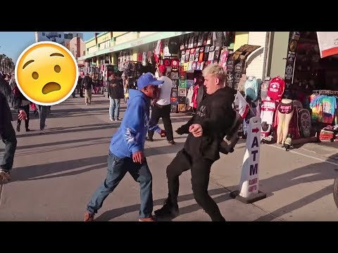 SOMEONE TRIED TO FIGHT ME ON VENICE BEACH