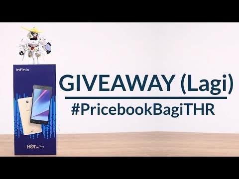 Giveaway Lagi! Infinix Hot 4 Pro di #PricebookBagiTHR [Part 3-4/6]