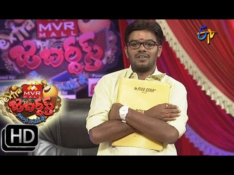 Extra Jabardasth - Sudigaali Sudheer Performance - 11th December 2015 - ఎక్స్ ట్రా జబర్దస్త్