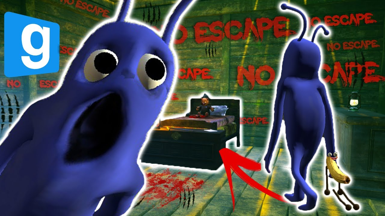 TRY TO ESCAPE COSTUME MAN! (Gmod - Build to Survive the Nextbot Challenge) | JustJoeKing