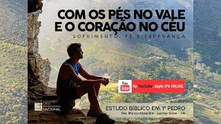 LIVE PASTORAL IPN ONLINE #157 (1 Pe 3.16-17 - Rev. Marcos Alexandre) – 13/01/2021