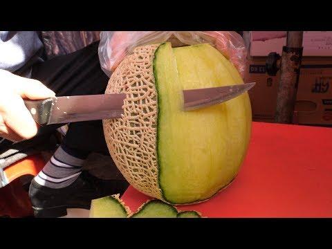 50년 2대째 과일가게, 과일 자르기 달인!! - 남대문 / Fruit Ninja of Korea, Amazing Cutting Skill - Korean street food
