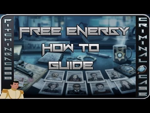 Criminal Case - Free Energy - How To Tutorial