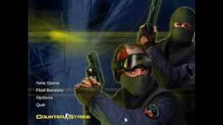 Jogando pela primeira vez Counter Strike 1.6 (CS)
