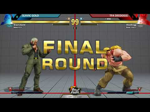 r/SF Weekly Dumpster Fire – Slavic Gold (Urien) vs TFA DeeDogg