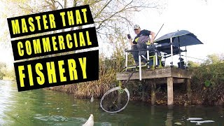 MASTER THAT COMMERCIAL WATER! FEEDER FISHING TACTICS / HOW TO FIND A PLAN