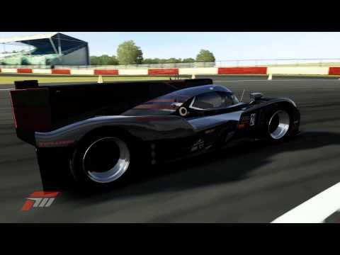 """Predator"" #21 Audi Sport Team Joest R18 TDI at Silverstone Grand Prix Circuit - Forza 4"