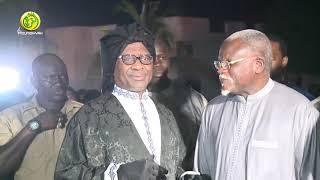 "Gamou Darou Mouhty Keur Mame Thierno Ibrahima Faty : Serigne Modou Kara Mbacké Signe son ""Come Back"""