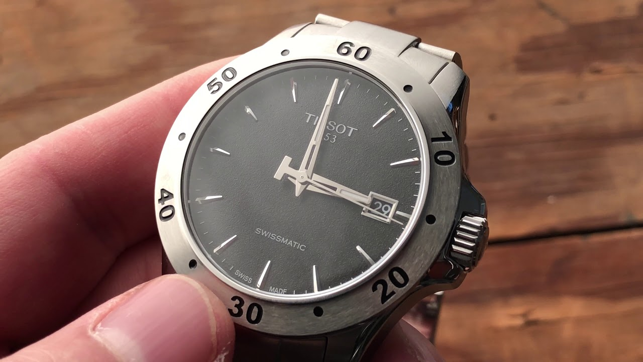 Tissot V8 Swissmatic Watch Review Ablogtowatch Youtube