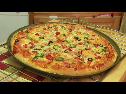 Thumbnail: Homemade Pizza Video Recipe⭐️ | Start to Finish Pizza Recipe with Dough, Sauce and Toppings