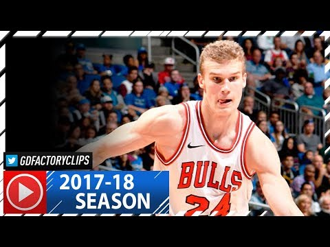 Lauri Markkanen Full Highlights vs Magic (2017.11.03) - 13 Pts, 9 Reb