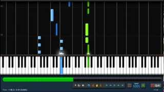Linkin Park - Powerless - Piano Tutorial (100%) Synthesia + Sheet Music