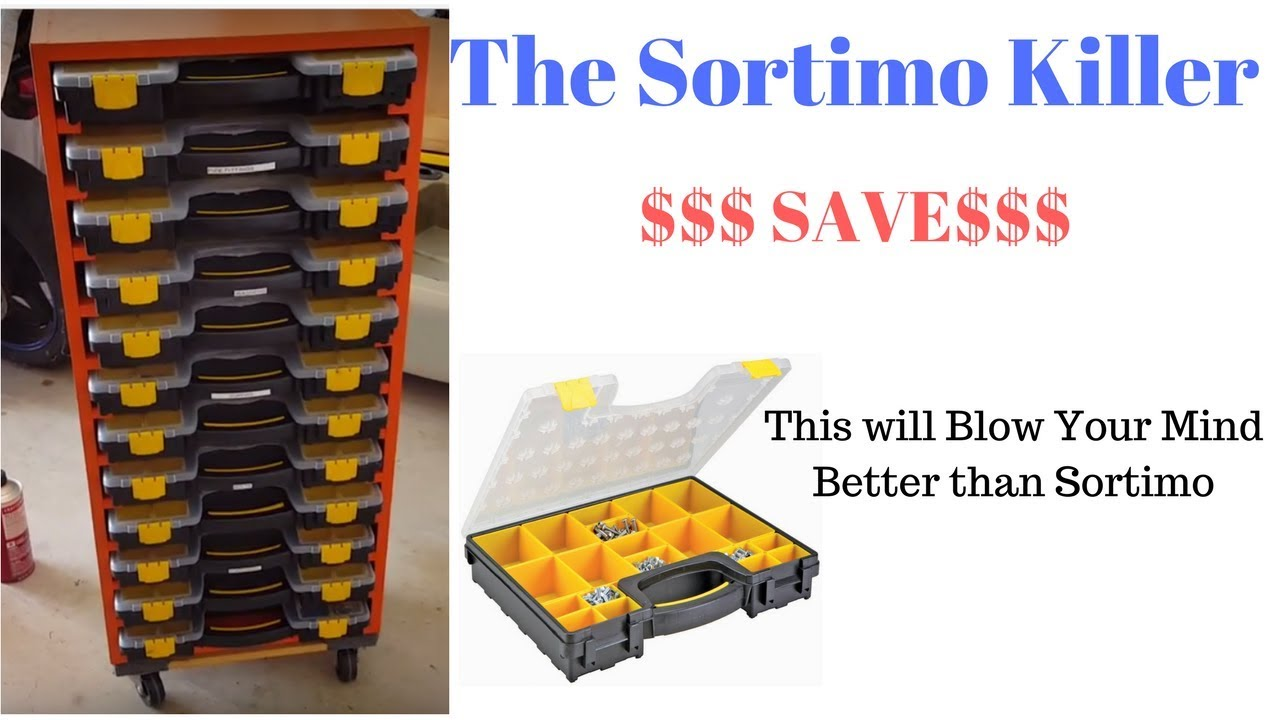 Diy Organizer For Harborfreight Storage Boxes Like Sortimo