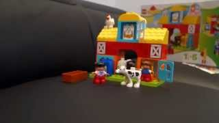 Lego Duplo Farm Life Kids and Toddlers unboxing soothing music
