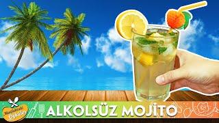 Evde 5 Dakikada Alkolsüz Mojito Tarifi - Yaz Sıcaklarında Misafirlerinize Buz Gibi Kokteyl Yapın