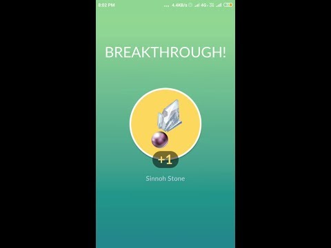 Pokemon Go : How To Get Sinnoh Stone