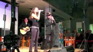 """Nina Maleika - Duett mit Udo Lindenberg (""""Was hat die Zeit mit uns gemacht"""")"""