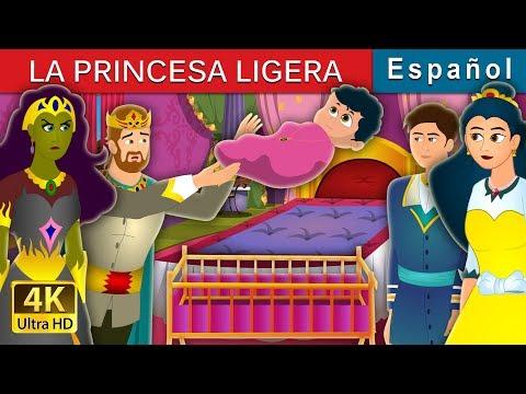 LA PRINCESA LIGERA | The Weightless Princess Story | Cuentos De Hadas Españoles