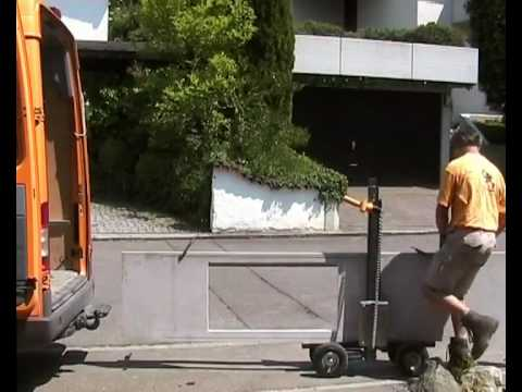 Asinus Stone Lifting Cart Youtube