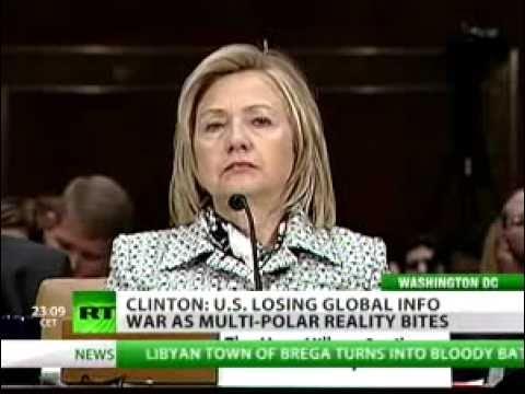 Hillary Clinton: US Losing Information War to Alternative Media