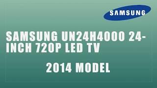 Samsung UN24H4000 24 Inch 720p LED TV 2014 Model