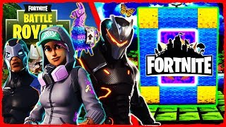 Minecraft Fortnite - How to Make a Portal to FORTNITE!