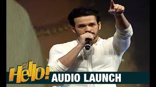 Akhil Akkineni Emotional Speech At HELLO! Audio Launch | Akhil Akkineni, Kalyani Priyadarshan