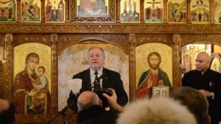 Discursul Gen.(r) Dr. Mircea Chelaru despre Eminescu . 15.01.2017