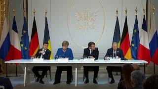 """""""Нормандская четверка"""" приняла совместное коммюнике по итогу саммита в Париже."""