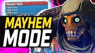 Borderlands 3 | New Details On Endgame - Mayhem Mode, Guardian Ranks, Annointed Gear