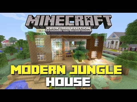 minecraft-xbox-360:-modern-jungle-house!-(house-tours-of-danville-episode-31)
