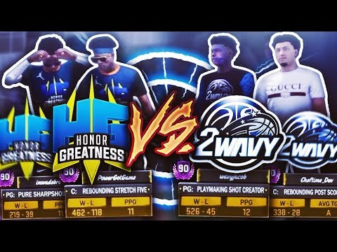 NBA 2K18 HG VS 2WAVY – THEY PULLED UP FOR REVENGE! 21-0 DROPOFF? BIGGEST EXPOSE EVER! FT. Wavy Jacob