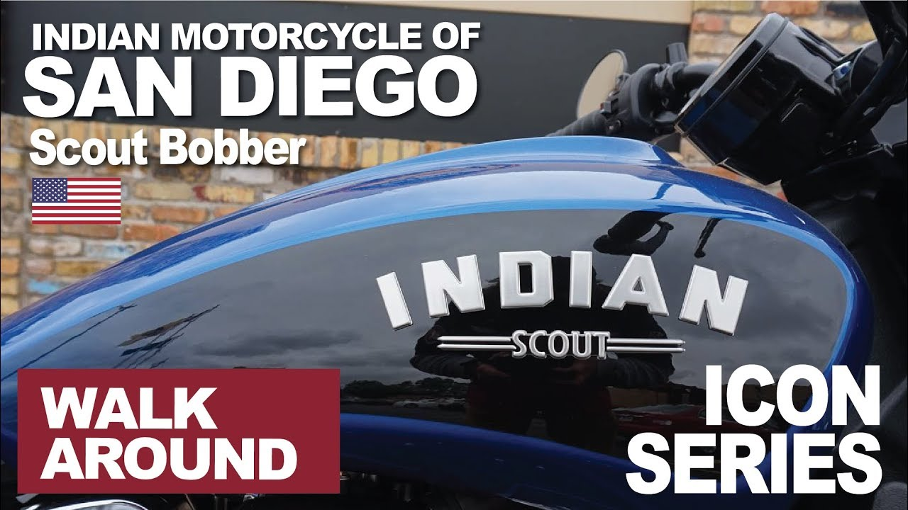 2019 Scout Bobber BluBlk Icon