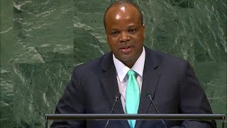 🇸🇿 Eswatini - King Addresses General Debate, 73rd Session